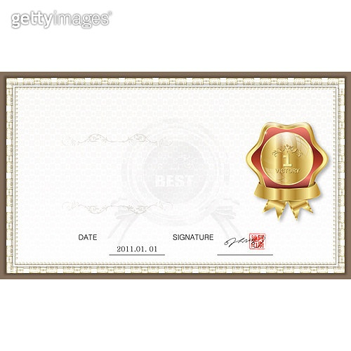 일러스트, 벡터 (일러스트), 메달장식 (공예품), 일등 (승리), 금 (금속), 성공, 트로피 (상), 메달 (상), 상장