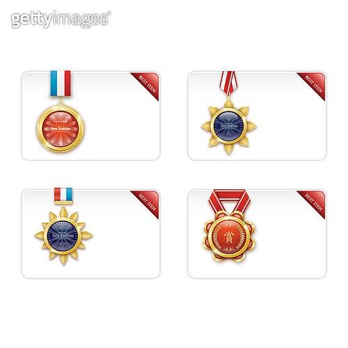 일러스트, 벡터 (일러스트), 메달장식 (공예품), 일등 (승리), 금 (금속), 성공, 트로피 (상), 메달 (상)