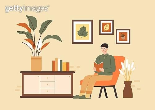 가을, 감성 (컨셉), 사람, 라이프스타일, 단풍나무 (낙엽수), 싱글라이프 (주제)