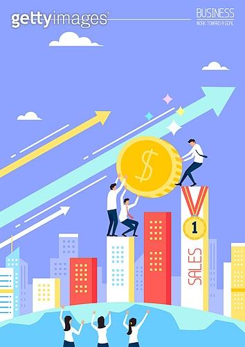 비즈니스, 성공, 희망, 비즈니스맨, 사람, 축하 (컨셉), 일등 (승리), 화살표