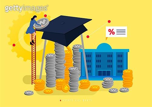 빚, 빚 (금융), 가정경제 (금융), 금융, 라이프스타일, 학자금대출