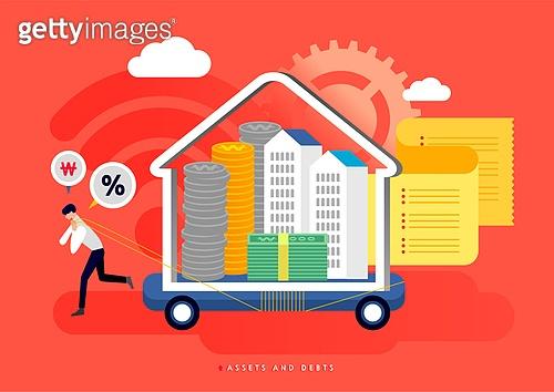 빚, 빚 (금융), 가정경제 (금융), 금융, 라이프스타일, 아파트, 주택문제