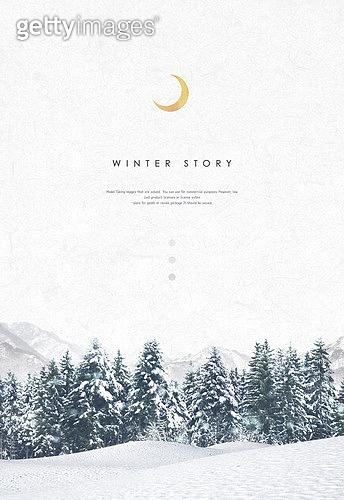 백그라운드, 계절, 겨울, 눈 (얼어있는물), 풍경 (컨셉), 설경