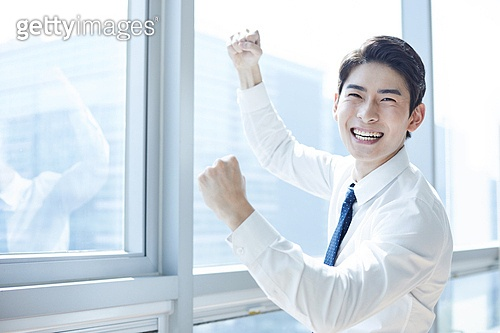 한국인, 사무실, 비즈니스, 성공, 성취, 성장