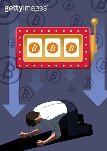 도박 (주제), 중독, 비트코인, 쇠퇴 (컨셉), 패배 (실패)