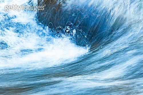 백그라운드, 백그라운드 (주제), 물 (자연현상), 계곡, 흐름, 물결