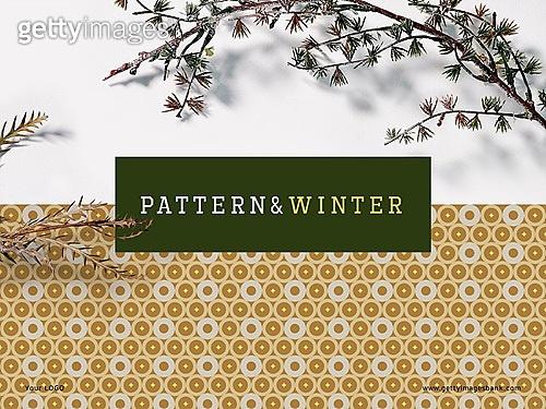 파워포인트, 메인페이지, 패턴, 겨울, 식물, 책표지 (주제), 프레임