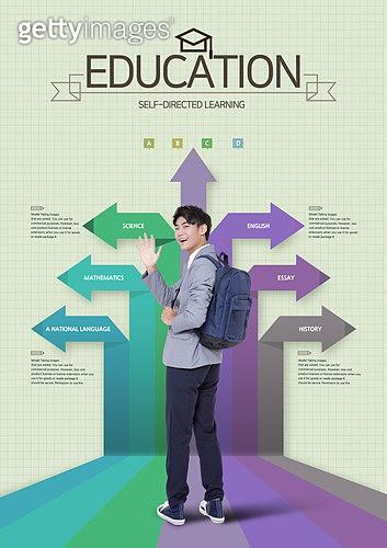 그래픽이미지, 편집디자인, 교육 (주제), 학교건물 (교육시설), 학원, 공부 (움직이는활동), 아이디어 (컨셉), 성적표 (보고서), 올라가기 (움직이는활동), 그래프, 학생, 고등학생