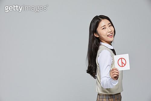 한국인, 투표 (선거), 선거권 (선거), 선거법, 공직선거법, 고등학생, 십대소녀 (여성), 십대 (나이), 교복, 투표용지, 학생