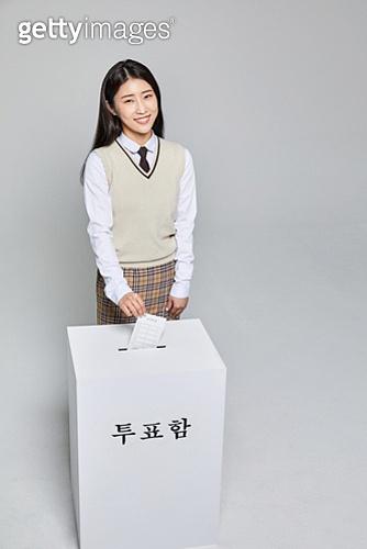 한국인, 투표 (선거), 선거권 (선거), 선거법, 공직선거법, 고등학생, 십대소녀 (여성), 투표용지, 학생, 투표함