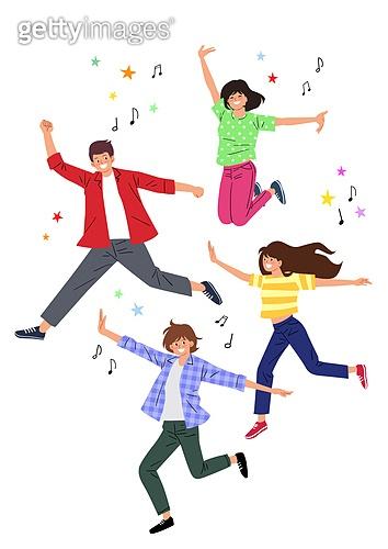 점프, 희망 (컨셉), 활력 (컨셉), 음표, 청년 (성인)