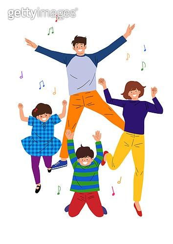 점프, 희망 (컨셉), 활력 (컨셉), 음표, 가족, 가정의달