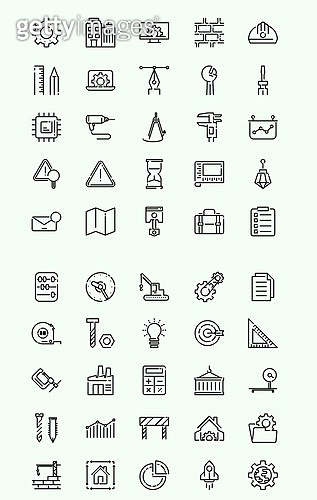 벡터 (일러스트), 아이콘, 아이콘세트 (아이콘), 라인아이콘, 건설, 건축, 도시, 부동산, 인테리어, 안전