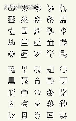 벡터 (일러스트), 아이콘, 아이콘세트 (아이콘), 라인아이콘, 배송, 택배, 배달, 구매, 결재, 쇼핑, 서비스