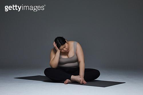 다이어트, 비만, 비만 (건장한체격), 스트레스 (컨셉), 고역 (컨셉)