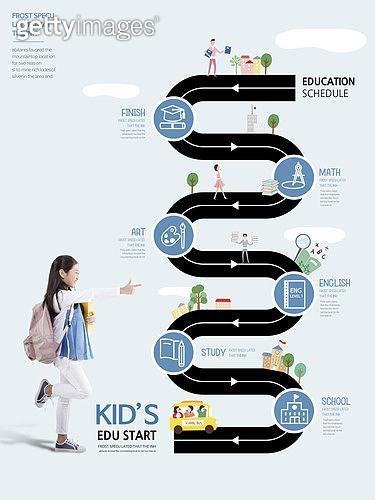 그래픽이미지, 편집디자인, 교육 (주제), 공부 (움직이는활동), 공부, 어린이 (나이), 프로세스 (컨셉), 창의성 (컨셉), 소녀, 학습지
