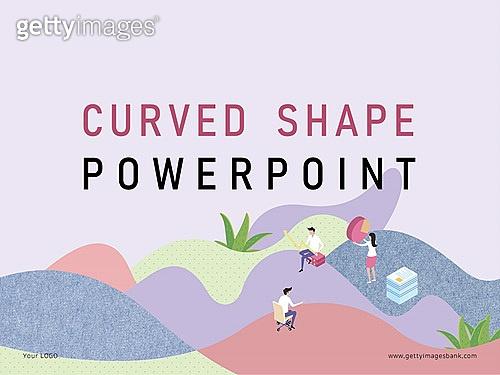 파워포인트, 메인페이지, 미니어처, 라이프스타일 (주제), 비즈니스, 곡선, 협력, 공동체 (컨셉)