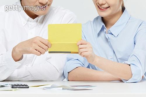 비즈니스 (주제), 금융, 소비, 소비 (컨셉), 재테크, 은행통장 (은행서류)