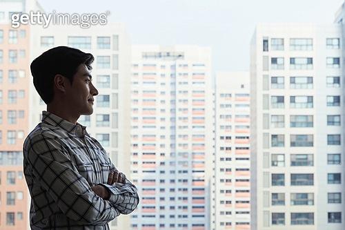 남성, 부동산, 부동산정책 (부동산), 생각 (컨셉)