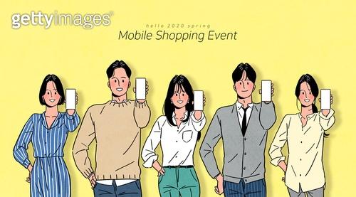 스마트폰, 라이프스타일, 쇼핑 (상업활동), 모바일쇼핑, 연례행사 (사건), 상업이벤트 (사건), 소비, 신용카드결제 (신용카드), 화이트칼라 (전문직), 청년 (성인), 온라인쇼핑