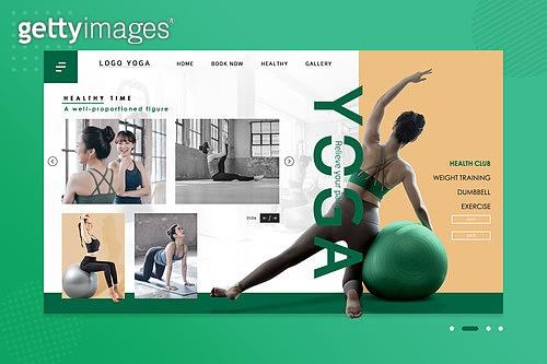 웹템플릿, 메인페이지 (이미지), 운동, 다이어트, 필라테스 (이완운동), 요가, 레깅스, 다이어트 (체형관리), 여성