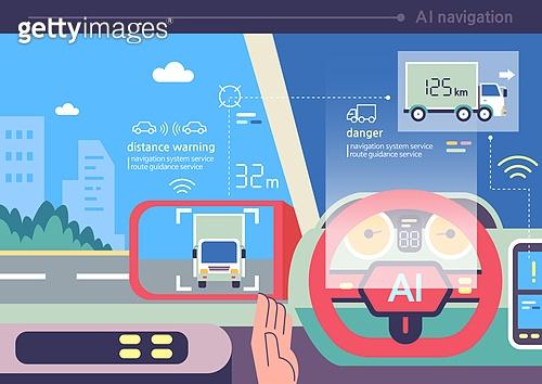 자동차, 자동차 (자동차류), 자동차핸들 (차량부품), 인공지능, 무인자동차 (자동차)