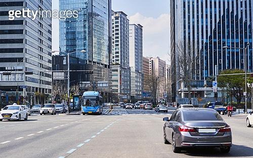 서울 (대한민국), 도시풍경 (도시), 공덕오거리, 고층빌딩 (회사건물)