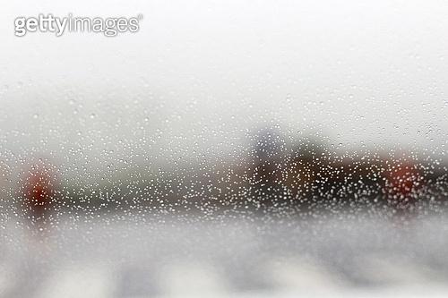 앞유리,자동차,비,물방울,빛망울,한국