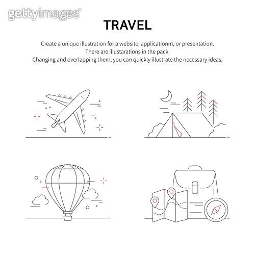 아이콘,여행,휴가