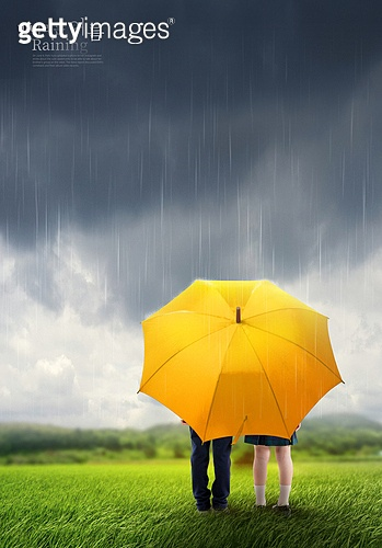 그래픽이미지, 비 (물형태), 날씨, 풍경 (컨셉), 여름, 장마 (계절), 우산 (액세서리), 폭풍구름 (구름)