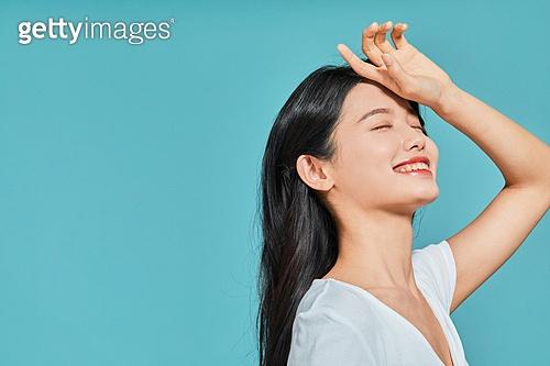 여성, 뷰티, 여름, 자외선차단 (보호), 미소