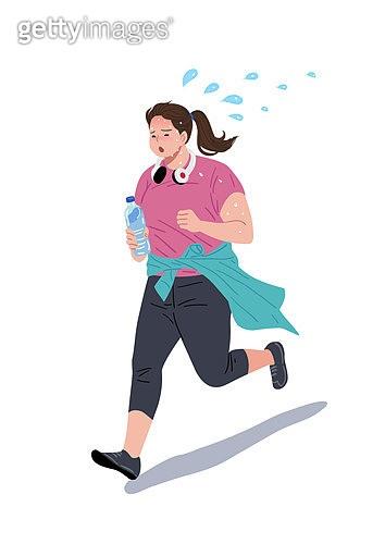 사람, 다이어트, 다이어트 (체형관리), 운동, 조깅 (운동), 달리기 (물리적활동)