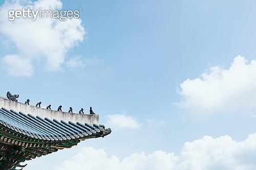 지붕 (건물특징), 고궁, 경복궁 (서울)