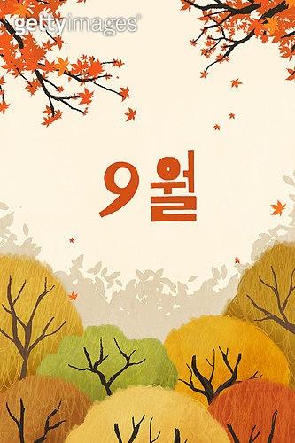모바일백그라운드, 모바일템플릿 (웹모바일), 템플릿 (이미지), 계절, 가을, 9월