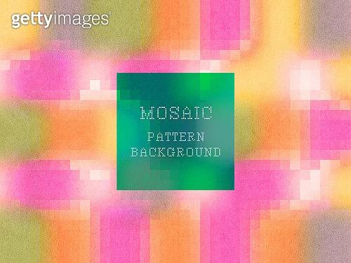 그래픽이미지, 백그라운드, 그라데이션, 모자이크처리 (콤퍼지션), 패턴 (묘사), 책표지 (주제)