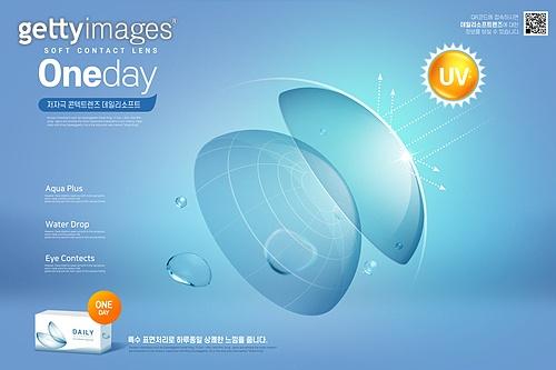 사람눈 (주요신체부분), 건강한생활 (주제), 콘택트렌즈 (안경류), 보호, 시력, 안과, 자외선