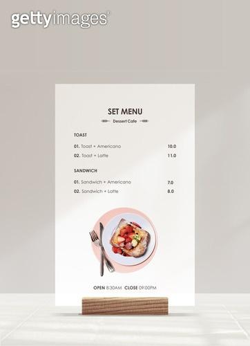메뉴, 목업, 백그라운드, 벽 (건물특징), 광고, 카페