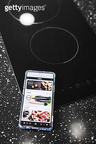스마트폰, 비대면, 모바일쇼핑, 인덕션 (주방가전제품)