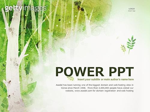 PPT,메인페이지,풍경,봄,숲,나무,자연