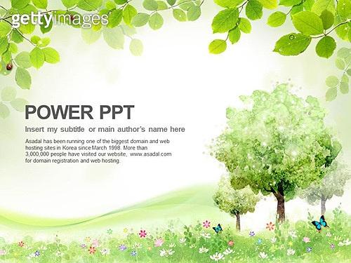 PPT,파워포인트,메인페이지,풍경,봄,숲,나무