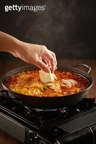 음식, 요리 (음식상태), 한식 (아시아음식), 김치찌개, 김치찌개 (찌개)
