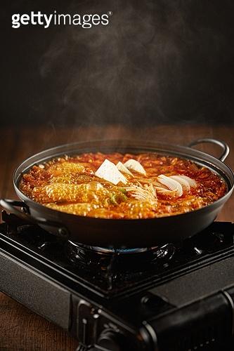음식, 요리 (음식상태), 한식 (아시아음식), 김치찌개, 김치찌개 (찌개), 끓이기