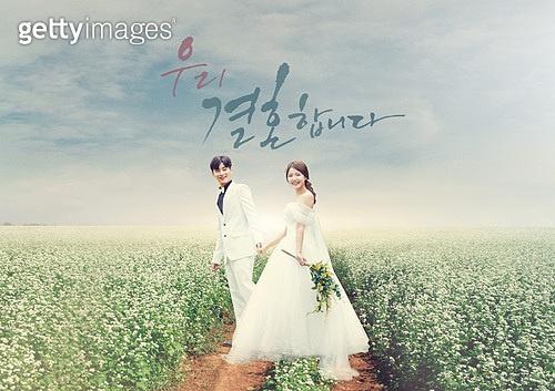 결혼 (사건), 촬영, 스냅촬영, 자연스러움 (컨셉), 행복, 사랑 (컨셉), 꽃밭