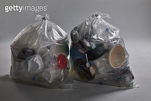 플라스틱, 쓰레기 (물체묘사), 폐기 (나쁜상태), 비닐봉투 (가방), 환경오염, 재활용 (환경보호)