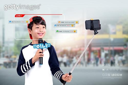 디지털네이티브, 스마트기기 (정보장비), 라이프스타일, 4차산업혁명 (산업혁명), SNS (기술), 인플루언서, 라이브방송