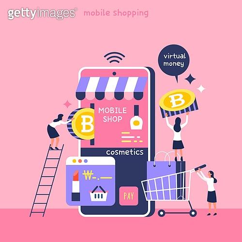 연례행사 (사건), 휴대폰 (전화기), 쇼핑 (상업활동), 지불 (구매), 모바일앱 (인터넷), 비트코인