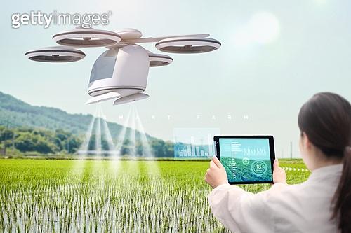 스마트팜, 농업, Artificial Intelligence (Technology), 인공지능, 경작지 (육지), 드론, 물주기, 분석