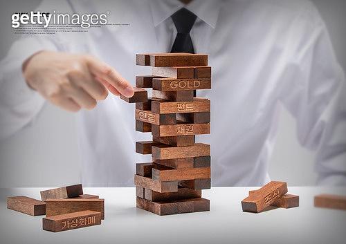 리스크헷지, 분산투자, 경제, 금융, 투자, 자산관리, 젠가
