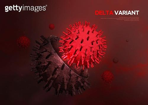 바이러스, 델타변이바이러스 (변이바이러스), 코로나19 (코로나바이러스), 코로나19