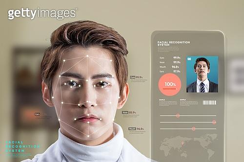 한국인, 안면인식기술 (생체인식), 생체인식, 정확 (컨셉), 스마트폰, 분석
